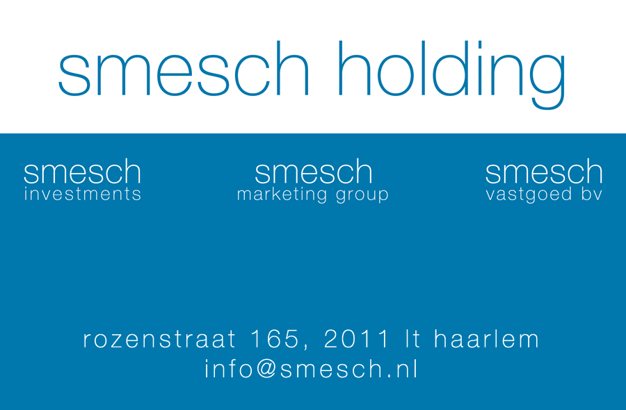 Smesch Holding, Investments, Marketing Group, Vastgoed